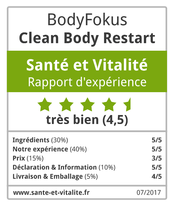 Clean Body Restart sceau